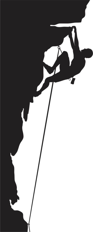 черно белые картинки скалолазание лопается