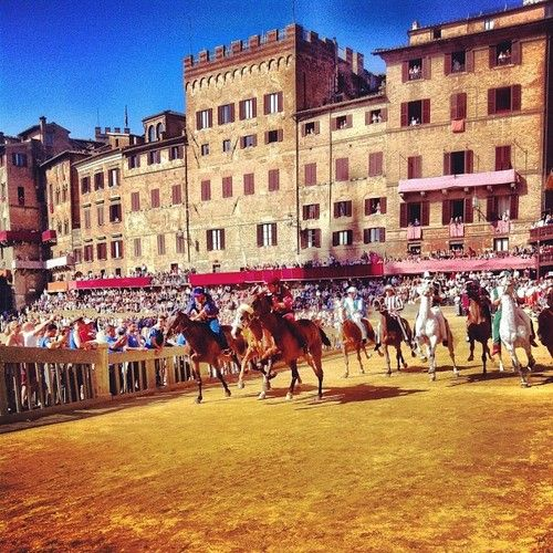 Palio di Siena Horse Race 2013  See more photos from the Palio...