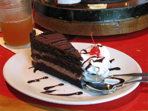 Triple Chocolate Moose Stampede Recipe served at Whispering Canyon Cafe in Wilderness Lodge Resort at Disney World