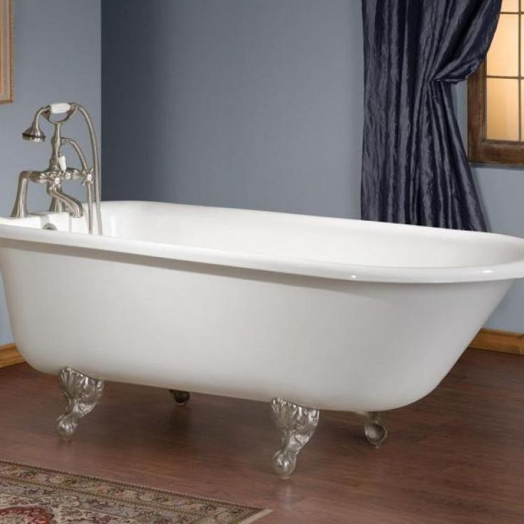 The Traditional Cast Iron Bath Is A Classic Clawfoot Tub For Lovers Of  Traditional Fixtures.