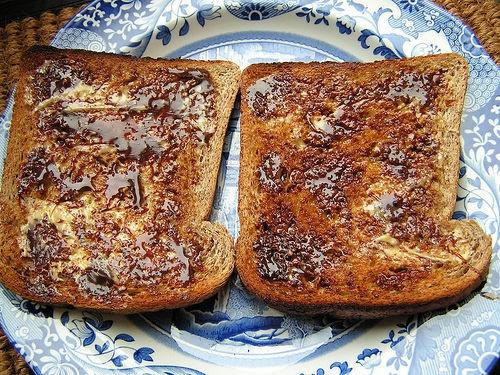 Marmite toast.