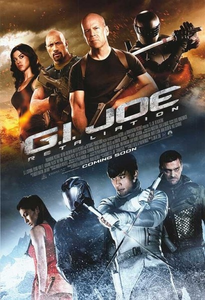 The stars in the movie are Channing Tatum, Dwayne Johnson and Ray Park. They performed their role very well in movie.