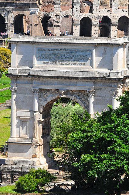Arch of Tito, Rome, Italy