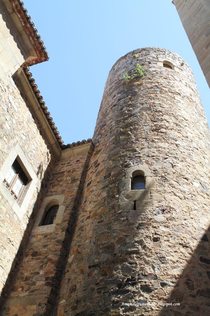 Torre redonda del Palacio de Carvajal, Cáceres
