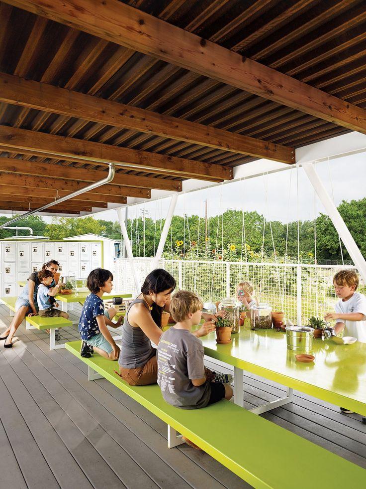 Austins casis elementary school teaching garden in 2020