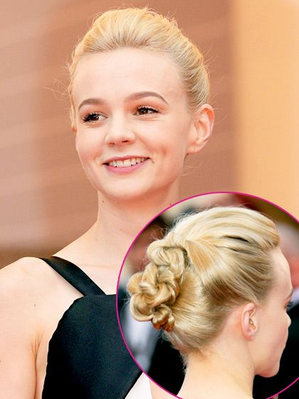 Best Wedding Hairstyles: Stars' Bridal Hairdos on the Red Carpet : Knotted Updo