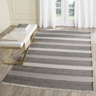 Shop for Safavieh Hand-Woven Kilim Grey/ Black Wool Rug (8' x 10'). Get free shipping at Overstock.com - Your Online Home Decor Outlet Store! Get 5% in rewards with Club O!