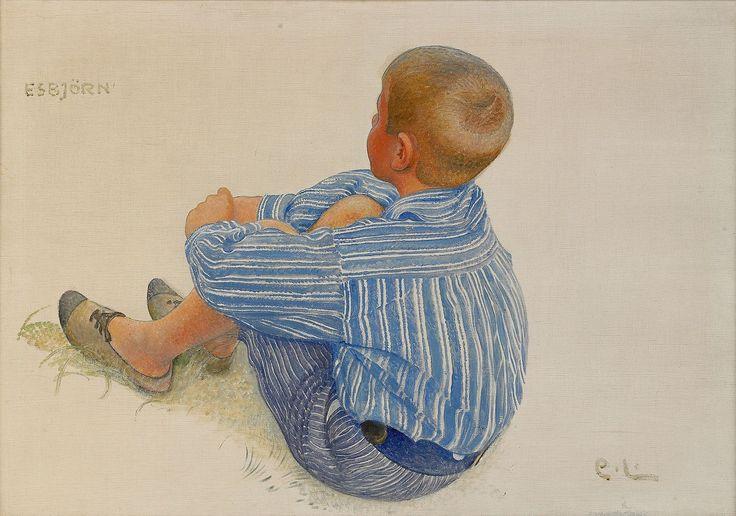 """Carl Larsson—""""Esbjörn"""""""