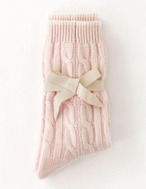 Cashmere Socks AD255 Socks & Tights at Boden
