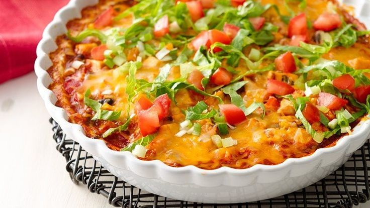 Skinny Mexican Chicken Casserole - 6sp