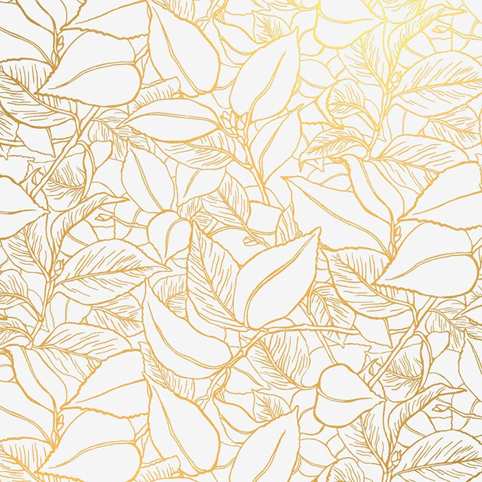 Lake August Wallpaper -  Gilded Paper Made in the USA, this debut collection of wallpaper is printed on recyclable papers in a renewable energy mill. What's more, a portion of each sale goes to the Land Stewardship Project for sustainable agriculture, making this glam paper in of-the-moment gold even more chic.