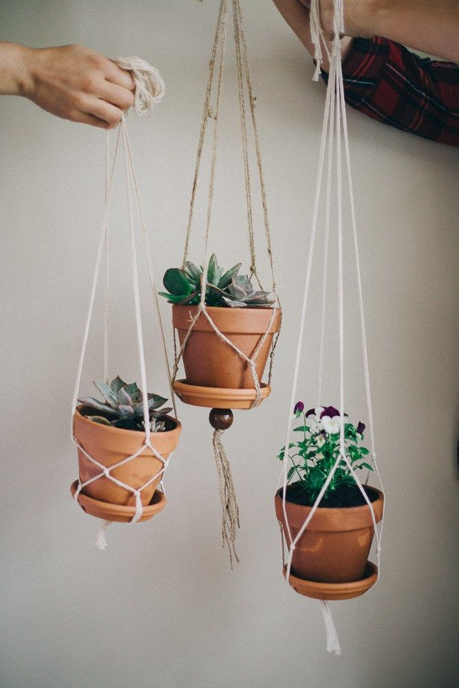 diy macrame hanging planter best 20 diy hanging planter ideas on 4636