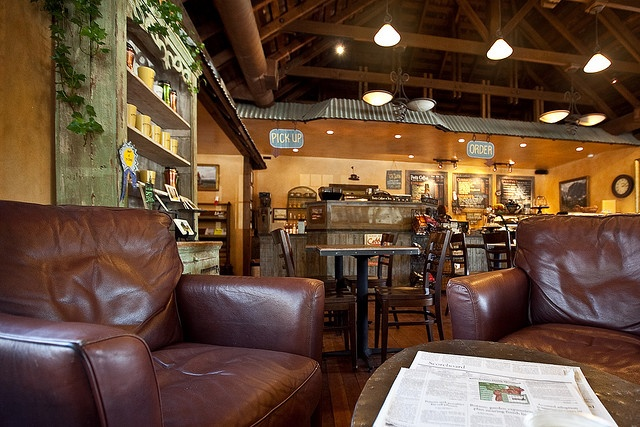 cozy coffee shop | Lobbies, Cafes and Rustic cafe