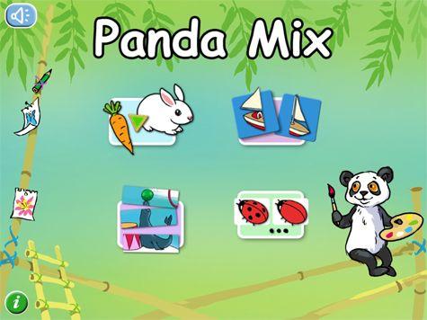 I Panda Mix ges barnen möjlighet att leka och lära på en gång! Inuti finns fyra olika pedagogiska pysselaktiviteter.