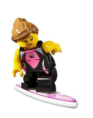 LEGO - Minifigures Series 4 - SURFER GIRL
