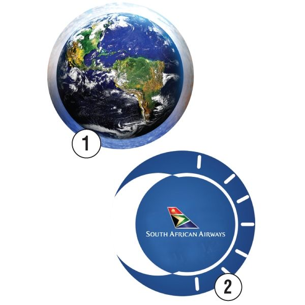 Lenticular Round Mousepad 3D Motion Product Size: 200w x 200h Branding:  Digital print Material:Paper, plastic