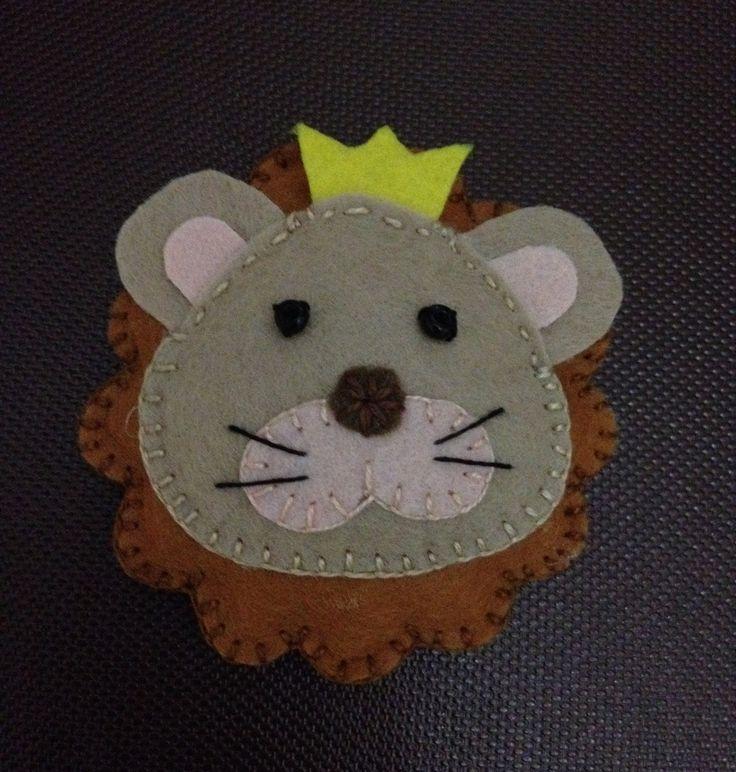 Aslan Kral Bebek Şekeri magnet yada anahtarlık