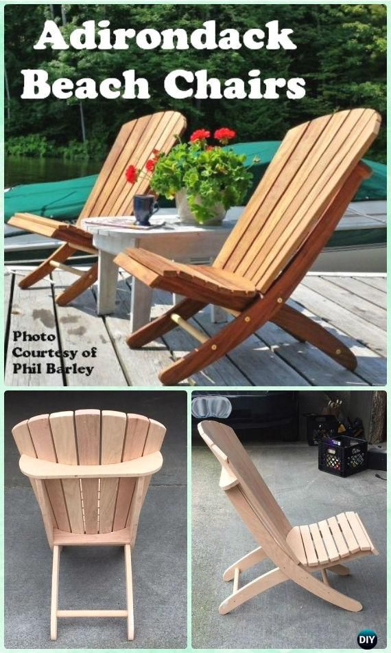 Adirondack Chair Plans DIY Adirondack Beach Chair Free Plan and Instructions