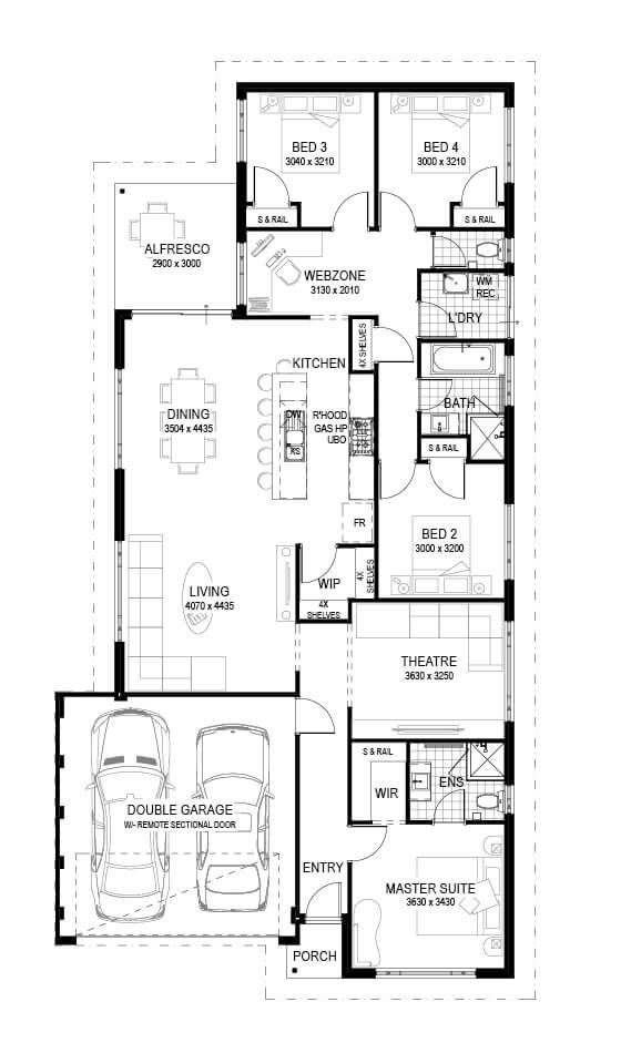 102 best Planos images on Pinterest Floor plans, House design and
