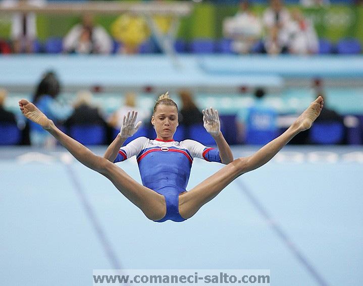 Svetlana Khorkina Push It Russian Glory Pinterest