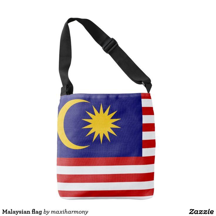 Malaysian flag tote bag