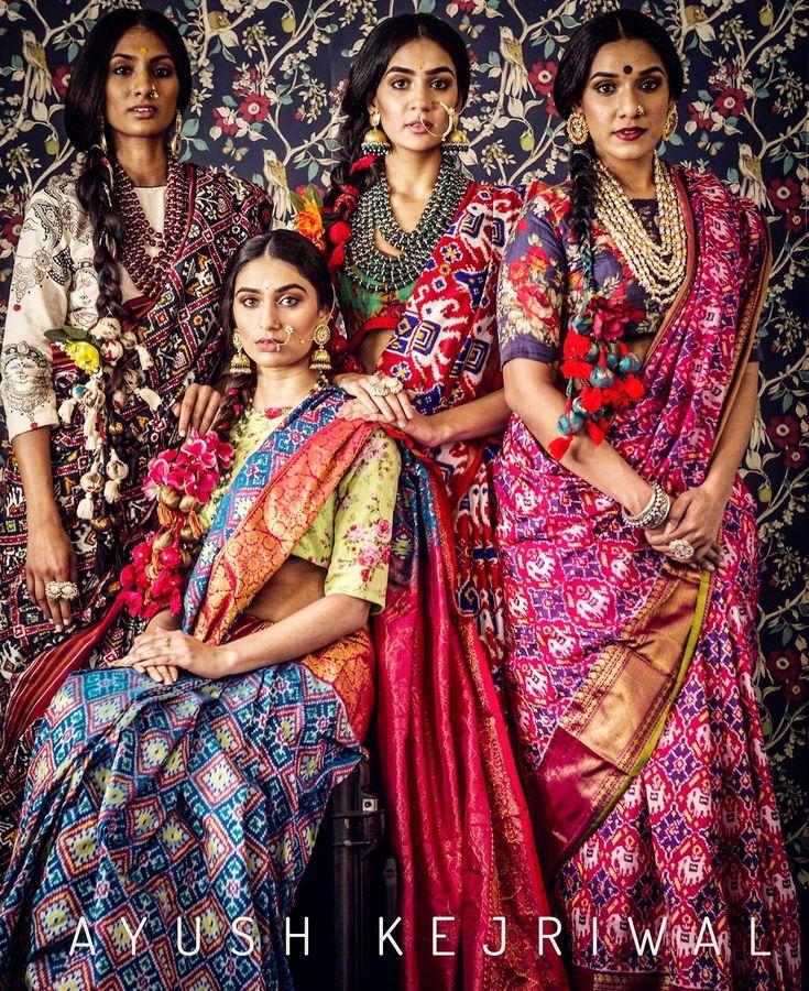 Patola Saree by Ayush Kejriwal For purchases email me at designerayushkejriwal@hotmail.com or what's app me on 00447840384707 We ship WORLDWIDE. Instagram - designerayushkejriwal