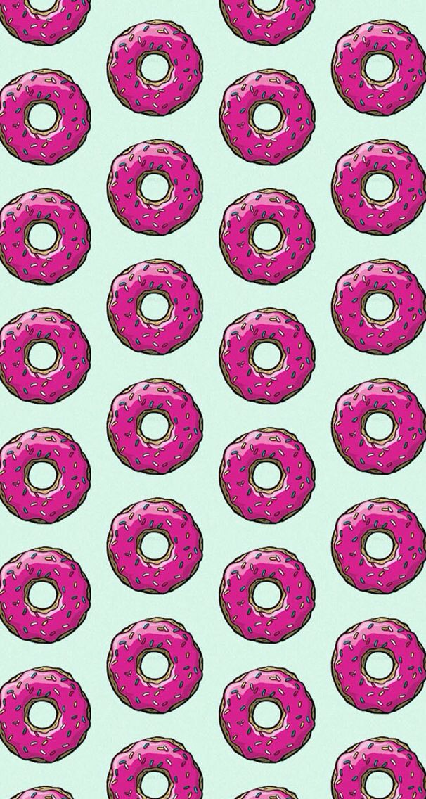 donuts simpsons wallpaper Wallpapers HD Pinterest