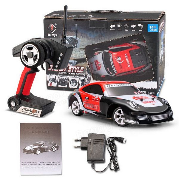 Wltoys K969 1/28 2.4G 4WD Brushed RC Car Drift Car #Unbranded