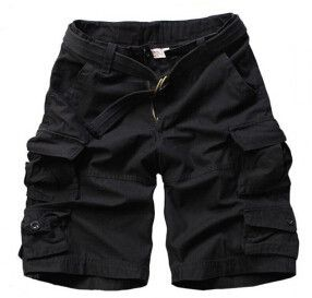 Mens Rugged Camouflage Cargo Military Short