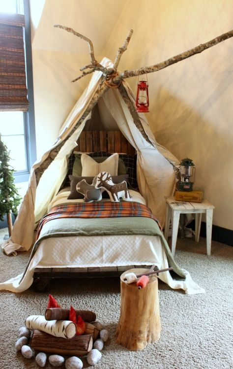 Parade of Homes Inspiration #bedroom #child_bedroom #camping_bedroom