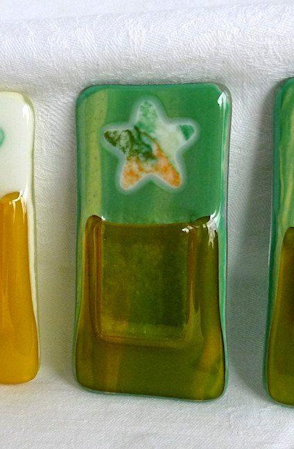Glass Pocket Magnetic Vase