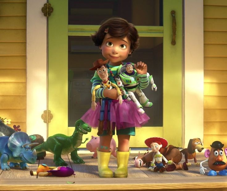 Bonnie Toy Story 3 -Outfit is adorable.