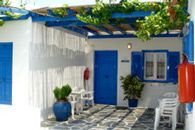 kythnos - traditional house