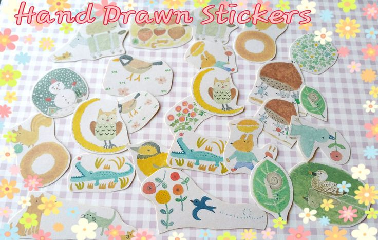 25xKawaii Stickers,Fairy Tale sticker,Cute Kawaii Stickers,Cute Planner Stickers in Crafts, Scrapbooking & Paper Crafts, Scrapbooking | eBay!