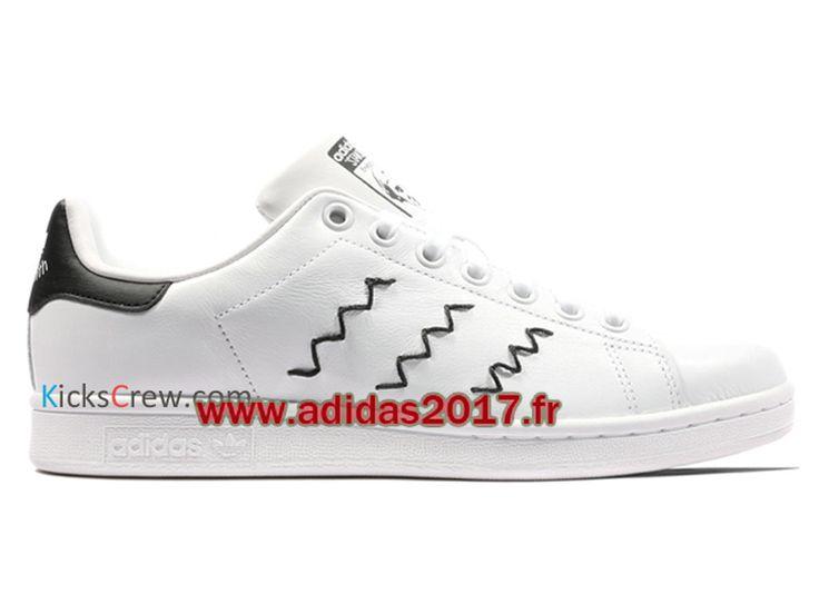 Adidas Stan Smith Noir Et Blanc Pas Cher