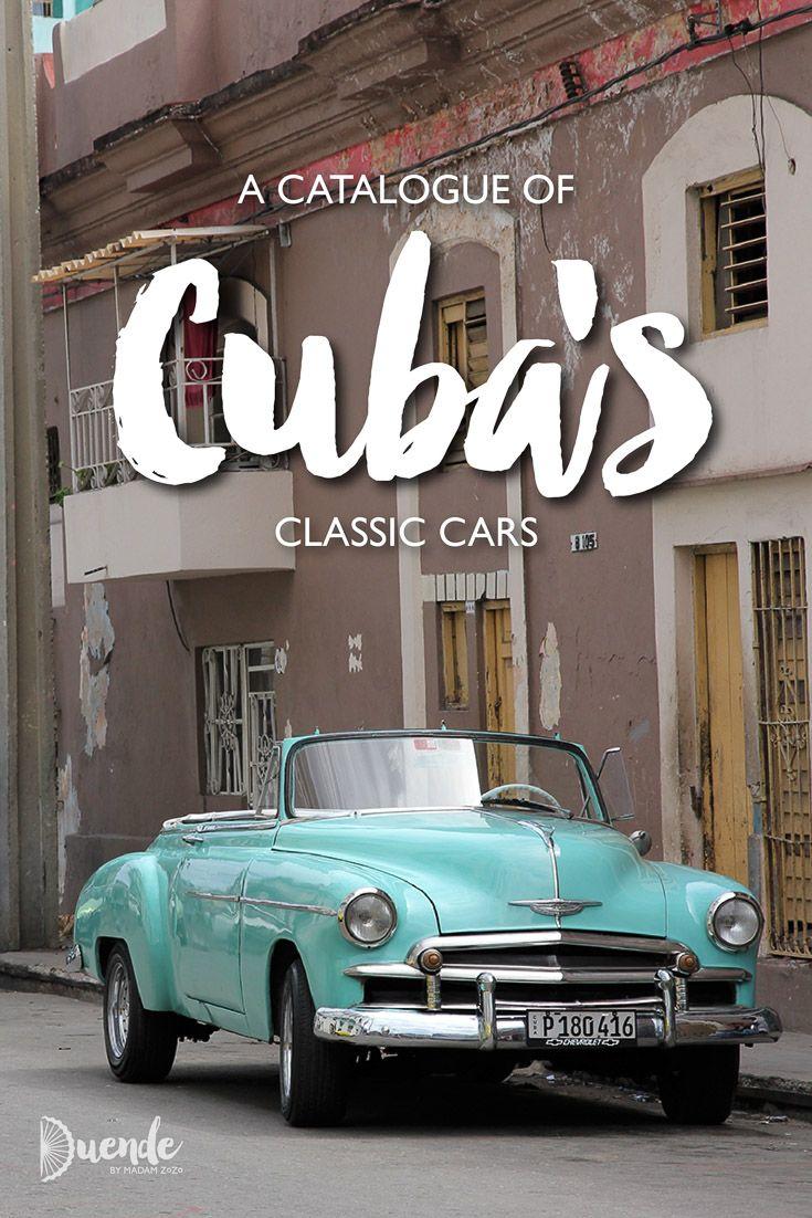 A catalogue of cuba s classic cars