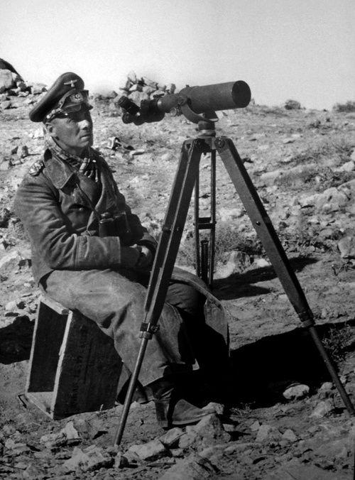 Erwin Rommel in North Africa, 1942