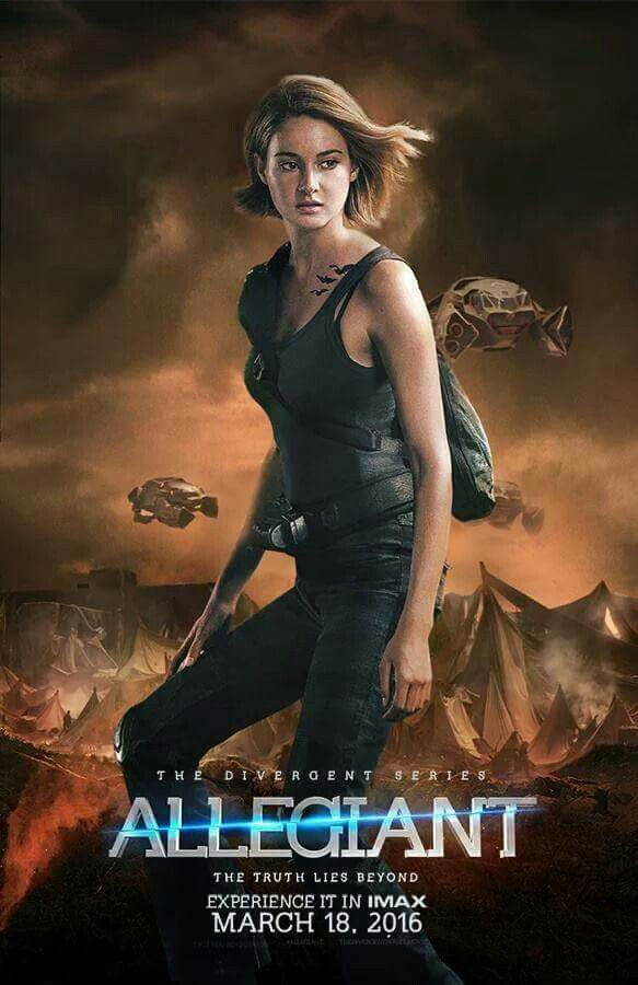 Honestly idk how to feel about the movie Allegiant because they completely ruined insurgent, like nothing was the same. Plus, there's spaceships in the background of this picture! WHAT THE HECK! IS THIS GONNA BE A MARS ATTACK OR SOMETHING!!!