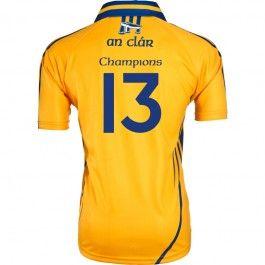 Clare 2013 All Ireland Hurling Champions Jersey #gaa #hurling #clare #oneills #all-ireland #commemorative