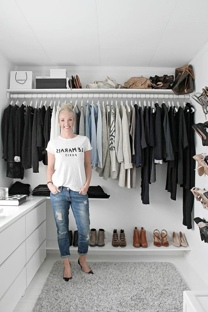 1000 id es sur le th me organisation de v tements sur pinterest rangements - Amenager un placard en dressing ...