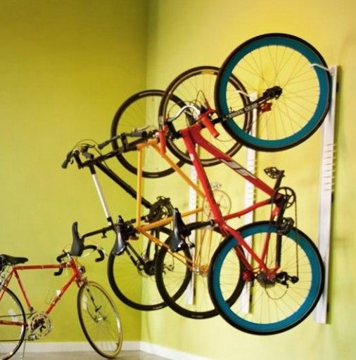 Steelcase Turnstone Bivi Bike Hook just a place to add other building storage ideas...