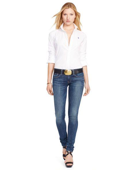 Polo Ralph Lauren Slim-Fit Poplin Shirt - Polo Ralph Lauren Long Sleeve - Ralph Lauren France