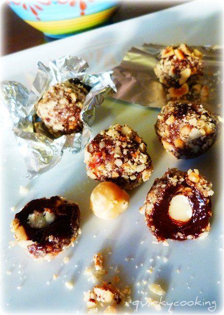 Quirky Cooking: Homemade Ferrero Rocher Chocolates (Dairy free & Gluten free!)
