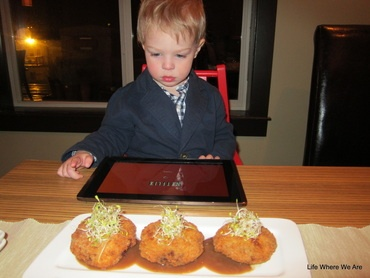 Tips for Eating Out With A Toddler. Case study from our experience at Wild Orchid Asian Bistro in Canmore, Alberta.