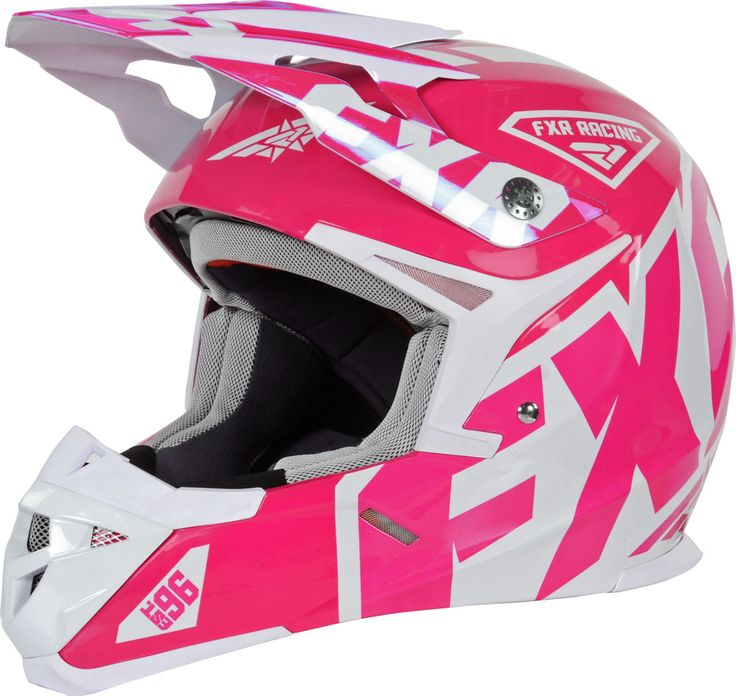 FXR Racing - 2015 Snowmobile Apparel - X1 Youth Helmet - Fuchsia