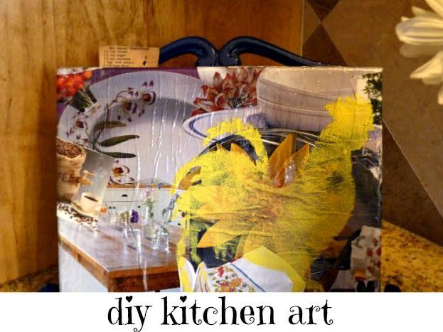 27 best DIY kitchen art images on Pinterest | Diy kitchens, Kitchen ...