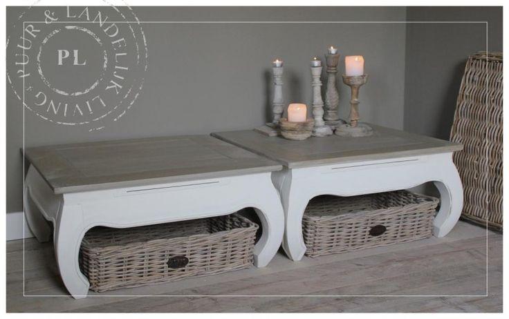 Landelijke OPIUM tafel / old weathered top | 》Landelijke salontafels | Puur & Landelijk Living