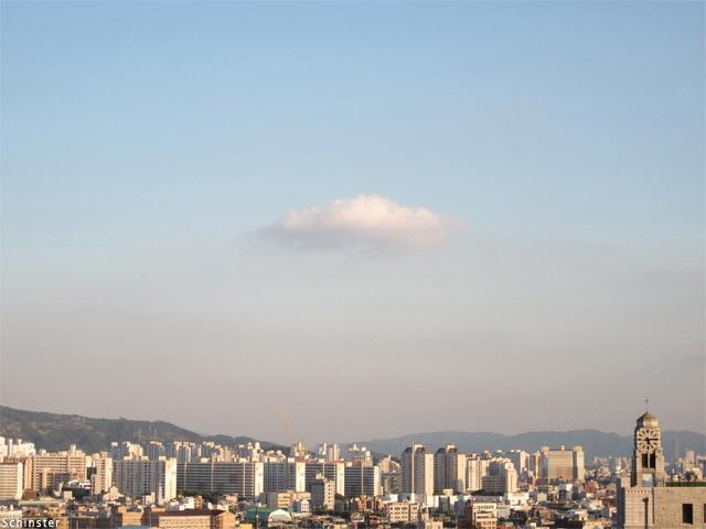 A City Cloud at 5:15 PM.  (www.schinster.com)