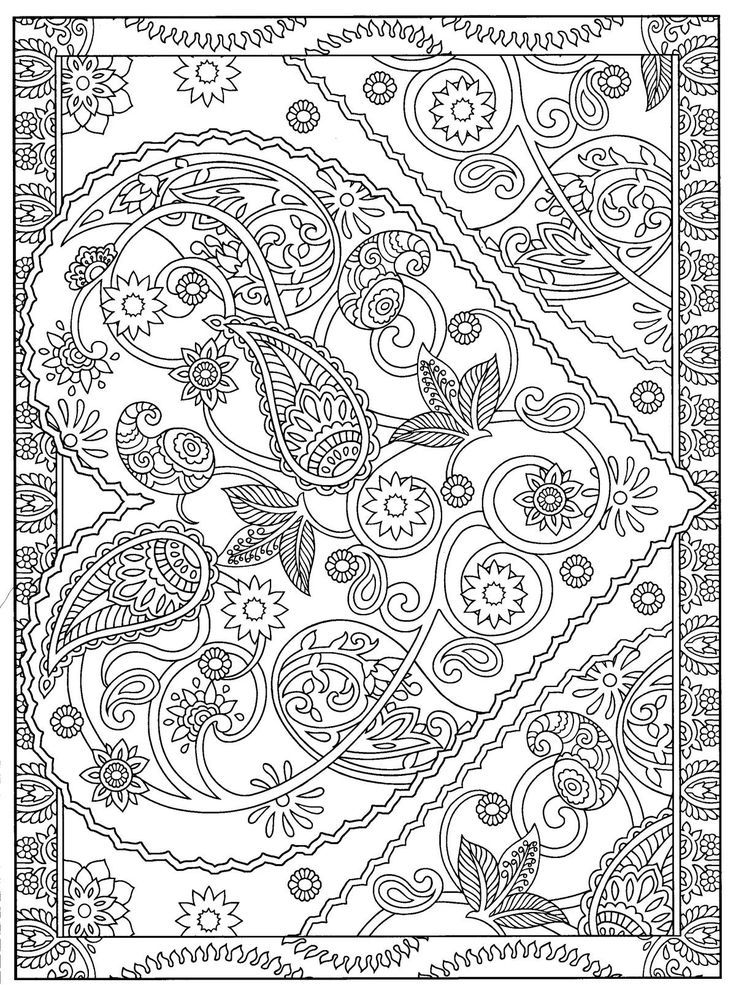 Heart Coloring page for Adults
