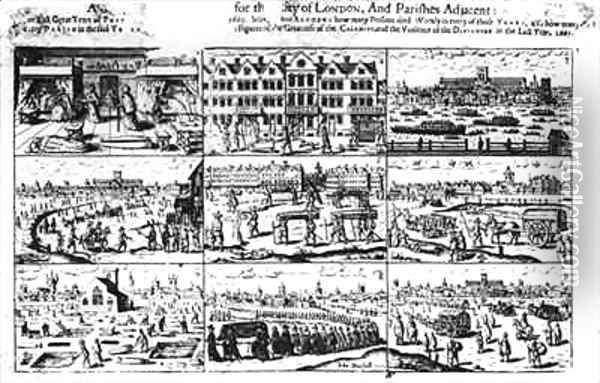 John Dunstall, Account of the Great Plague of London in 1665